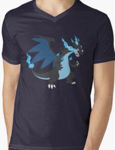 Mega Charizard Mens V-Neck T-Shirt