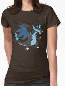 Mega Charizard Womens Fitted T-Shirt