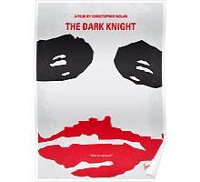 No245 My The Dark Knight minimal movie poster Poster