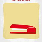 No255 My OFFICE SPACE minimal movie poster by Chungkong