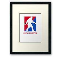 MLB Major League Bigfooting  Framed Print
