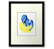 Watercolor Luxray  Framed Print