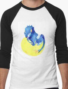Watercolor Luxray  Men's Baseball ¾ T-Shirt