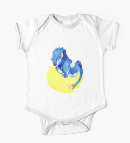 Watercolor Luxray  One Piece - Short Sleeve