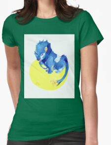 Watercolor Luxray  Womens Fitted T-Shirt