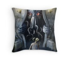 Cthulhu Entering our World: Wishful Thinking Throw Pillow