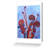 Scroll Bouquet Greeting Card