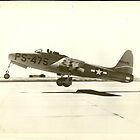First Full Test Flight XP-84 by John Schneider