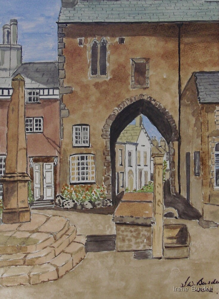 Cartmel. UK by Irene  Burdell