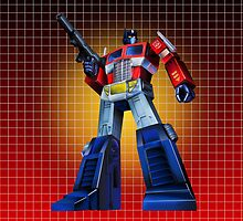Optimus Prime - G1 Style Backdrop by Draconis130