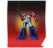 Optimus Prime - G1 Style Backdrop Poster