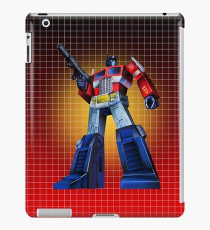 Optimus Prime - G1 Style Backdrop iPad Case/Skin