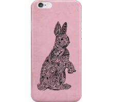 Rabbit_Pink iPhone Case/Skin