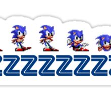 Sonic Idle Shirt Sticker