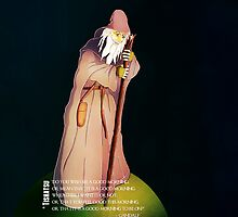 Gandalf, LOTR, The Hobbit, Froddo, Ring, Tolkien, Movie, Premier, Cinema, Wizard, Wand, Magic, Smaug, The Gray by TishatsuDesigns