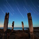 Wye River Star Trails by Alex Wise