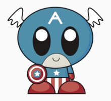 Mini Captain America by JazznProduction