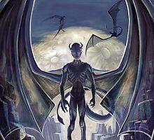 Lovecraft Night Terrors: Nightgaunts by ItoSaithWebb