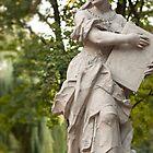 Statues of Saxon Gardens by Andrea  Muzzini