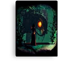 Bioshock Infinite Songbird & Elizabeth Canvas Print