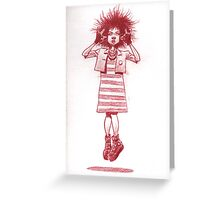 Babe afloat Greeting Card