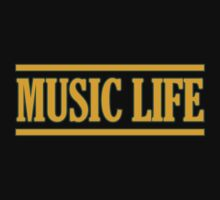 Music Life decoration 	Clothing & Stickers by goodmusic
