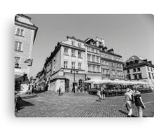 Old Town, Warsaw Canvas Print