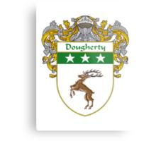 Dougherty Coat of Arms/Family Crest Metal Print