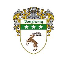 Dougherty Coat of Arms/Family Crest Photographic Print