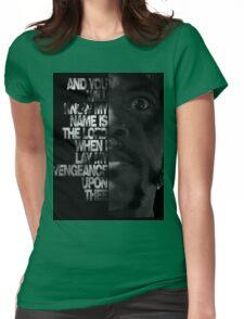 Samuel L Jackson Monologue Womens Fitted T-Shirt
