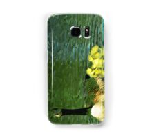 Mother Goose and Goslings Abstract Impressionism Samsung Galaxy Case/Skin