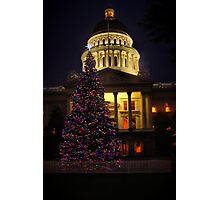 California Christmas Photographic Print