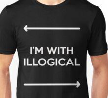 surrounded by illogic Unisex T-Shirt