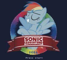 Sonic Rainboom Kids Tee