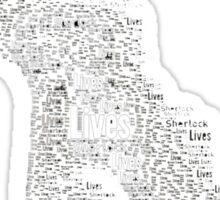 Sherlock Lives Sticker