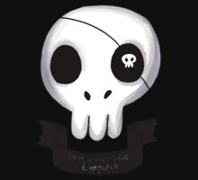 Skull with a Skull Eyepatch by prussianmoose
