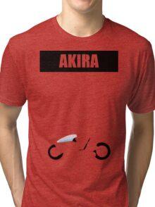 Akira minimalist Tri-blend T-Shirt