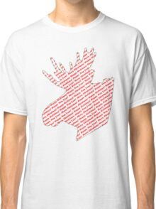 Moose Holidays Greetings Classic T-Shirt