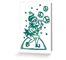 Peace Elf Greeting Card