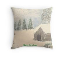 A winters tale. Throw Pillow