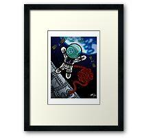 Un voyage dans l'espace Framed Print