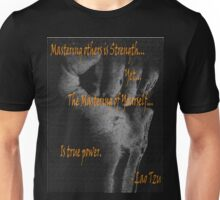 Bad-Ass Lao Tzu Self Mastery Quote  Unisex T-Shirt