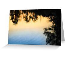 Gradient Lake Greeting Card