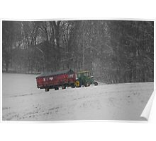 The Holiday Tractor Poster