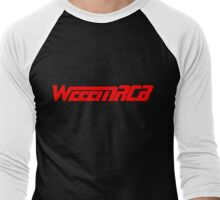 WeeemRCB #1    All Red Men's Baseball ¾ T-Shirt
