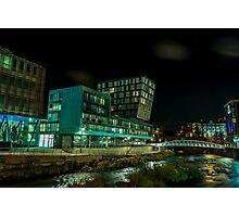 Urban River Photographic Print