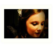 Wedding Flower Girl Art Print