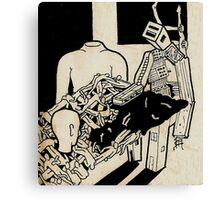 Machine man Canvas Print