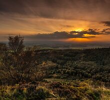 Sutton Sunset North Yorkshire by fiji-images