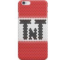 Minimalistic Minecraft TnT Block iPhone Case/Skin